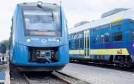 全球首列氢动力火车在德国开动,只排蒸汽和水!