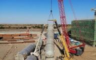 新疆天业2×90000Nm³/h空分装置安装最新进展  11月底全部安装完成