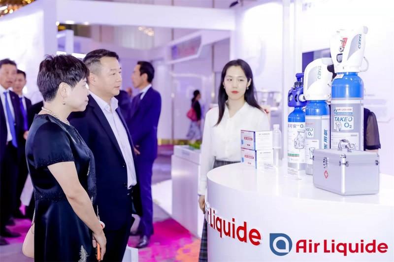 液化空气在华30周年庆典_气体应用展